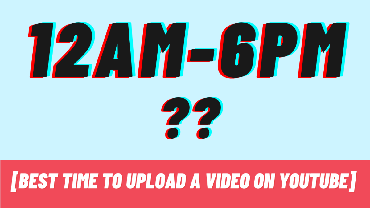 What are the best prime timings to upload cooking videos on youtube india