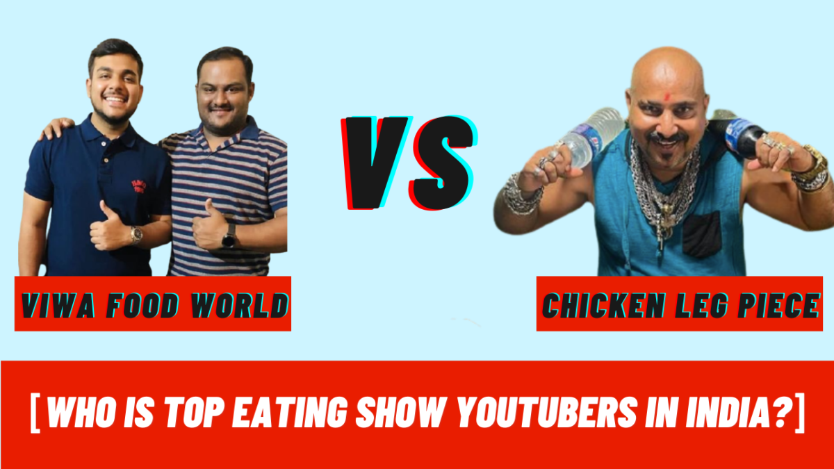 Who were the Top Eating Show Youtubers in India
