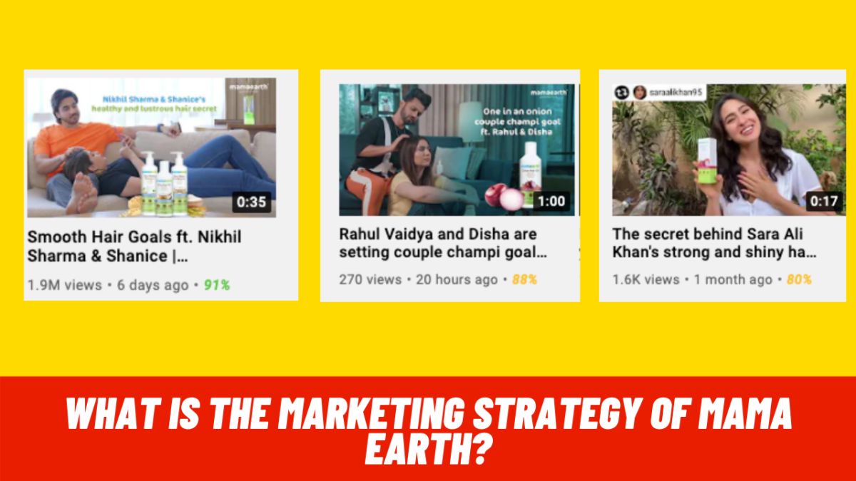 What is the marketing strategy of Mama Earth?