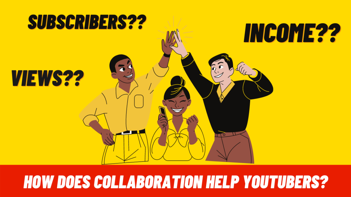 How does collaboration help YouTubers to grow their YouTube Channel?