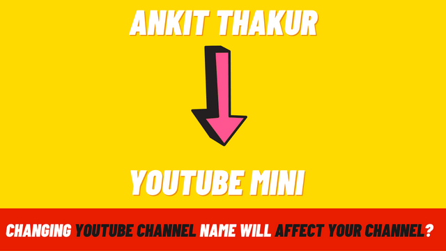 Does changing the YouTube channel name also change the channel names shown below every video uploaded previously?