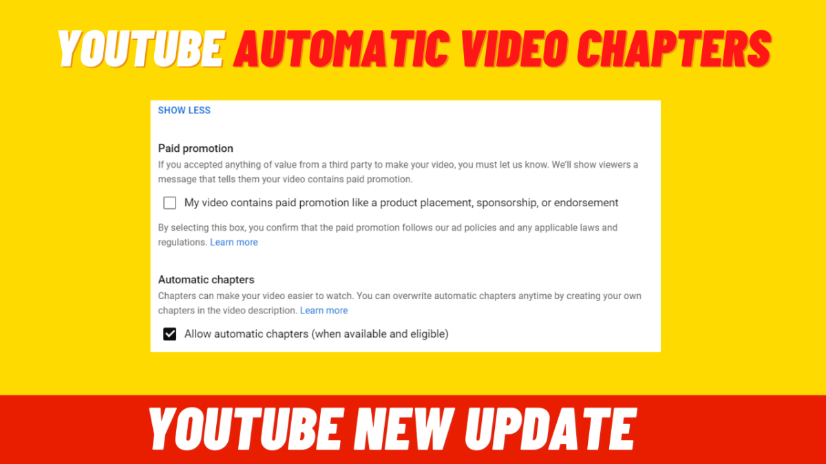 What Is Youtube Automatic Video Chapters? [New Update]