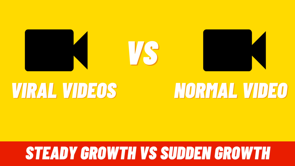 Which Is Better As A Content Creator Slow And Steady Growth Or Sudden And Fast Growth?