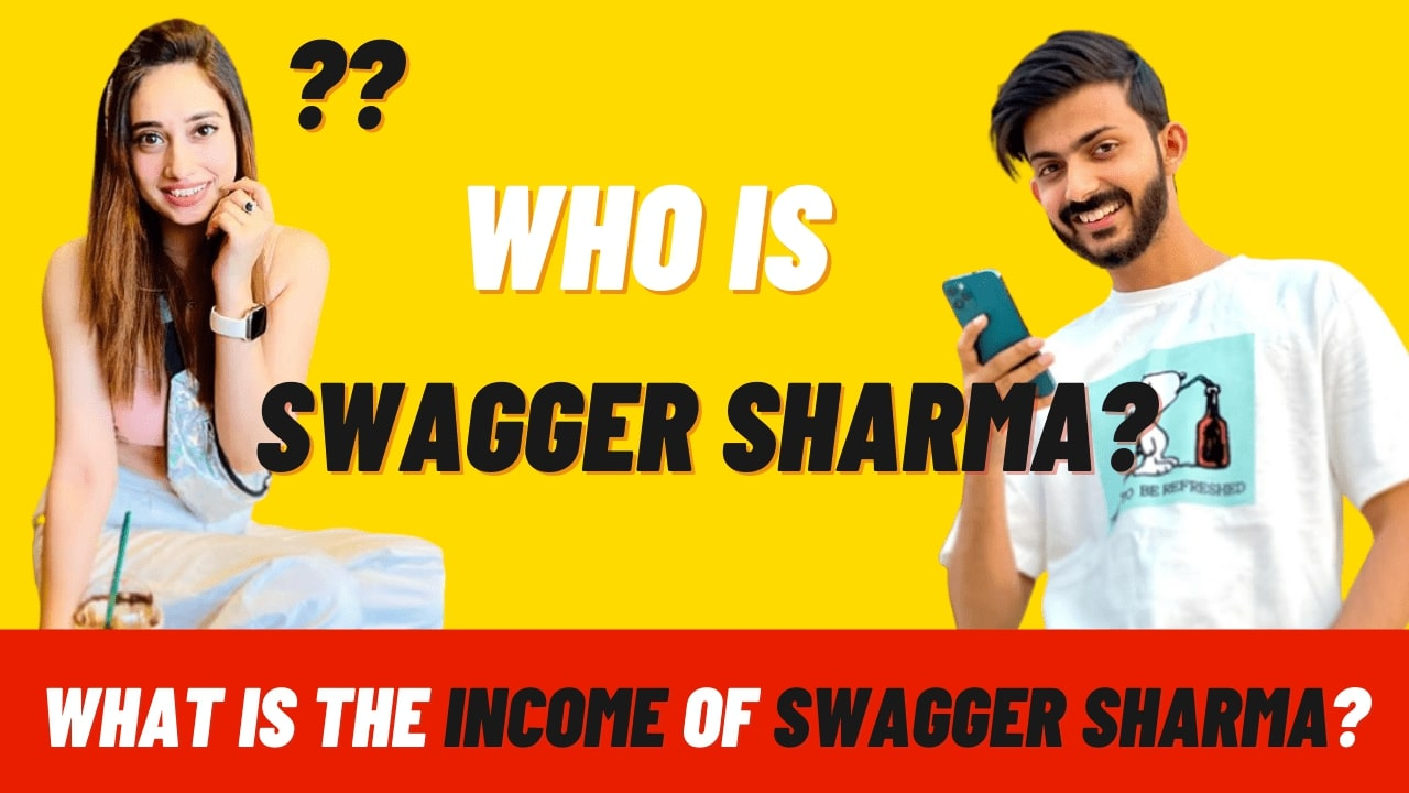What is the income of Swagger Sharma from YouTube in 2021?