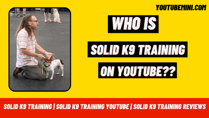 Solid k9 Training | Solid k9 Training Youtube | Solid k9 Training Reviews