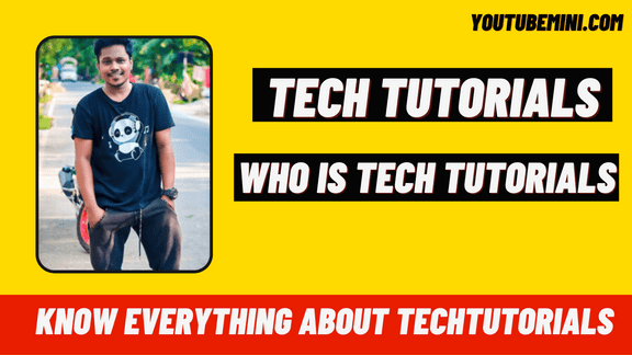 Techtutorials   Who is TechTutorials?