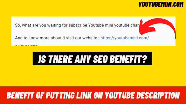Is There Any SEO Value In Putting links In YouTube Video Description?