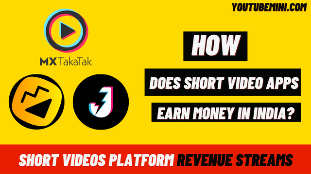 How Does A Short Video Platform Earn Money In India Except YouTube?