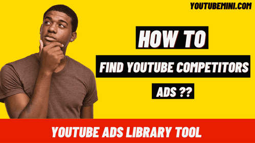 Is There A Tool Like Facebook Ad Library For YouTube Campaigns To Check Your Competitor Ads