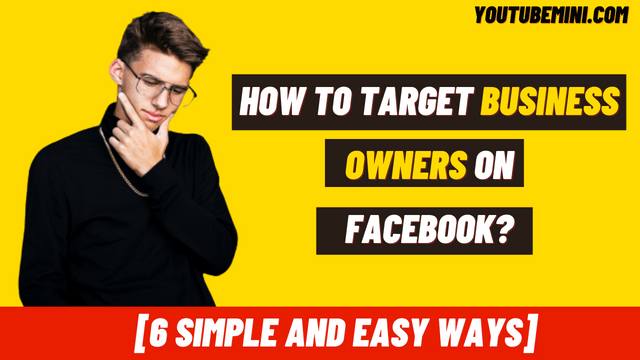 How To Target Business Owners On Facebook in the USA?