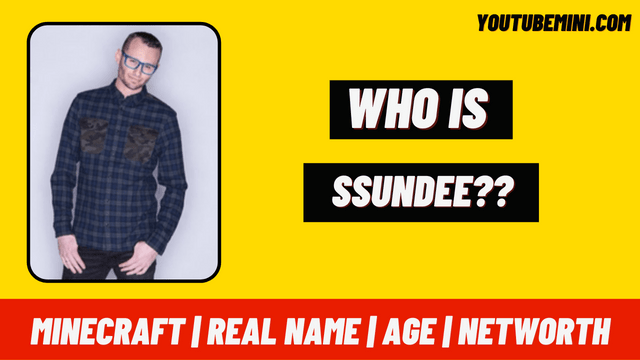 Ssundee   Minecraft   Real Name   Age   Networth