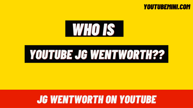 Youtube JG Wentworth   What is JG Wentworth?