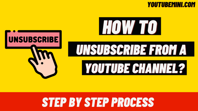 How To Unsubscribe From Youtube Channel? | How To Unsubscribe From Youtube Channel On Mobile?